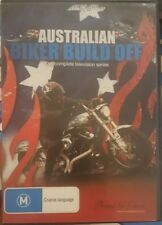 AUSTRALIAN BIKER BUILD OFF RARE DELETED DVD COMPLETE TELEVISION SERIES TV SHOW
