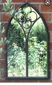 Garden Rustic Arch Mirror 60cm High 38cm Wide