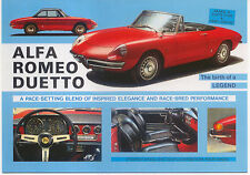 Alfa Romeo Duetto Large Format MODERN postcard by Jenna