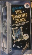 TREASURES OF THE TWILIGHT ZONE VHS Box Set Special Episodes Rare Footage NEW!