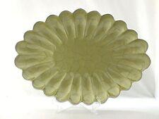 """Julia Knight Peony Oval Platter Dish Kiwi Green 18"""" NEW"""