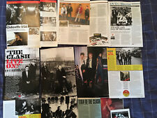 THE CLASH - ARTICLES / PHOTOS - CLIPPINGS / CUTTINGS COLLECTION