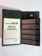 Texas Instruments TI 58 / 59 Electrical Engineering Module + Cards + Guide