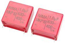 Wima MKP1J041006G00KYSD Capacitor, 1uF, 400VAC, 2pcs