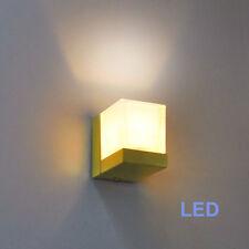 Wandleuchte LED 6W Luxus Wandfluter Sorpetaler messing-matt Wandlampe A++ NEU