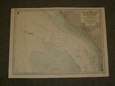 Vintage Admiralty Chart 3766 Malaysia - North Approach To Klang Strait 1949 edn