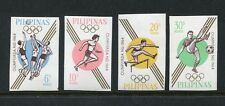 Philippines 915a-918a imper,MNH.Michel 762-765B. Olympics Tokyo-1964.
