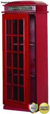 Phone Booth CD Multimedia Holder Pay Telephone Vintage Cabinet 3 Tier Shelf Rack