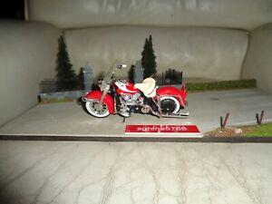 Maisto 1/18 - Moto Harley Davidson 1962 FLH Duo Glide - AL