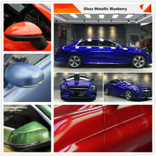 Ultra Gloss Metallic Vinyl Car Wrap Stretchable Graphics Decals Sticker Colorful