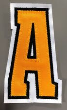 "BOSTON BRUINS ASSISTANT CAPTAIN ""A"" PATCH FOR HOME JERSEY PATRICE BERGERON"