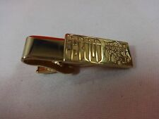 30 Year Soap Box Derby Gold Tone Tie Clip