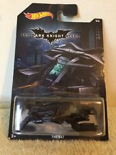 New 2014 Hot Wheels The Dark Knight Rises The Bat