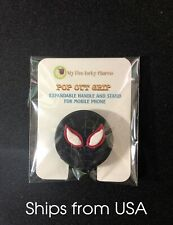 Spider-Man Miles Morales 3D Expanding Pull Out Handle/ Stand For Mobile Phone