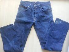 HUGO BOSS STRETCH Dark Blue Denim Jeans-Hose-Pants W33 L34 neuw.EDEL Cotton-El.