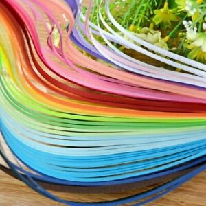 paper Quilling Set 1000 Strips Multi color 23cm Length 3mm Available