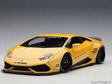 Autoart Lamborghini Huracan Liberty Walk LB Works 1:18 Model Car Yellow 79124