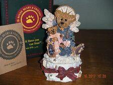 Boyds Bears 1995    ~1E ANGELICA...THE GUARDIAN~    TRINKET BOX   STYLE #2266