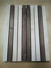 "1 1/2"" Cutting Board Kit Lumber Maple & Walnut - Free Shipping!"