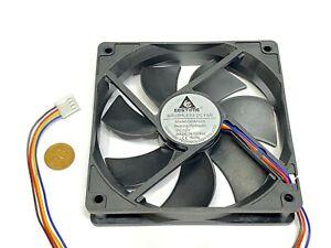 GDSTIME Computer Case fan Large12V 4Pin 120mm 25mm gda blower 1225 G18