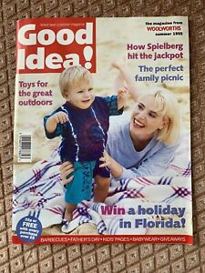 Woolworths - Good Idea Magazine From Woolworths. Summer 1995 so well kept