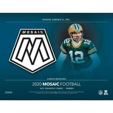 LOS ANGELES CHARGERS 2020 Panini Mosaic Football 3Box 1/4 Case Break #2