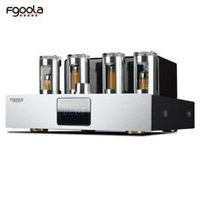 Optical fiber coaxial bluetooth HiFi Valve Tube Amplifier USB With  Remote 130W