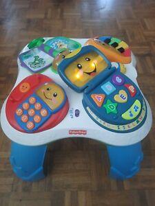 Fisher Price Baby Kinder Lernspieltisch Spieltisch Musik ABC Englisch Funktion