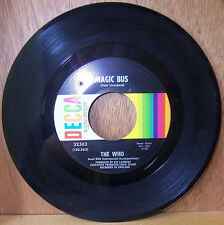 The Who: Magic Bus / Someone's Coming; Original 1965 45 RPM single