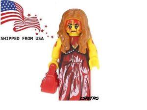 Carrie Movie Horror Bloody Mini Figure Toy Building Blocks