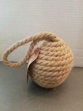 Nautical Rope knot Doorstop Seaside Fishing Home Decor NEW