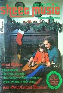 Sheet Music Magazine December 1979 Fascination, Wine, Women and Song    #14-16