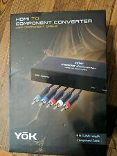 YOK HDMI to Component Converter (EB491) 4 feet length