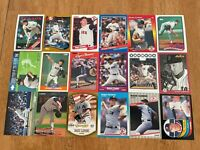 Lot of 100 Roger Clemens Baseball Cards TOPPS DONRUSS SCORE FLEER RED SOX+++