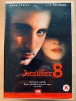 Jennifer 8 DVD 1992 Serial Killer Stalks Blind Girl Thriller with Andy Garcia