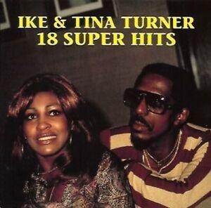 Ike & Tina Turner - 18 Super Hits SuperHits - CD, 1988