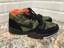 Nike Lunar Trainer 1 SAMPLE Camo Black Orange SZ 9 654477-900