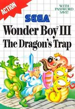 Wonder Boy III: The Dragon's Trap - SEGA Master System (Boxed & Good Condition)