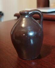 Vintage Miniature Pottery Stoneware Jug Primitive Crock - Very Old