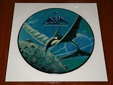 "ASIA WHO WILL STOP THE RAIN ? HEART OF GOLD *RARE* 10"" PICTURE DISC VINYL 1992"