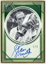 Stan Smith 2020 Topps Transcendent Tennis Collection Emerald Autograph 1/5