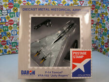 U.S. NAVY F14B TOMCAT JOLLY ROGER DARON 1:160 SCALE DIECAST DISPLAY MODEL