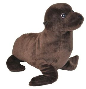 "Cuddlekins Sea Lion soft plush toy 9""/22cm Wild Republic"