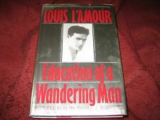 Education of a Wandering Man by Louis L'Amour (2008, HD)  1ST PRINTING