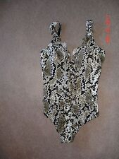Profile by Gottex snake skin one piece suit, NWOT, size 16