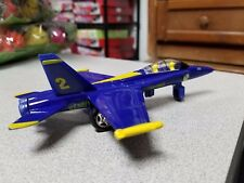 "7"" F/A-18 Hornet US Navy Blue Angels Jet Diecast Model Toy Officially Licensed!"