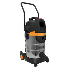 More details for pc300bl sealey vacuum cleaner cyclone wet & dry 30ltr 1400w/230v vacuum cleaners