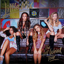 LITTLE MIX * GET WEIRD UK TOUR PROGRAMME w/ TOTE, KEYRING & FLYER * BLACK MAGIC