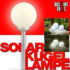 NEU █ LED SOLAR LEUCHTKUGEL Kugelleuchte Kugellampe Ø15cm
