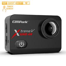 Campark X30 Caméra Sport 4K/60fps 20MP WiFi Appareil Photo Étanche Écran Tactile